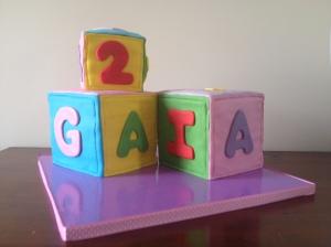 Torta cubi Gaia 1